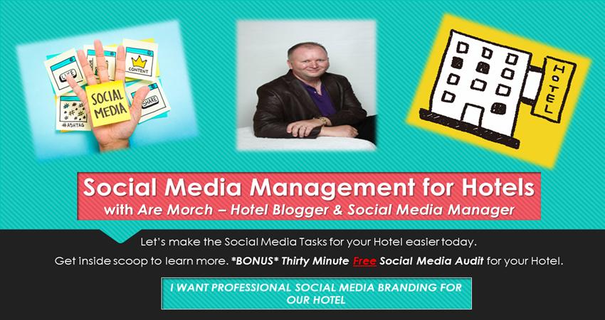 Hotel Social Media Manager