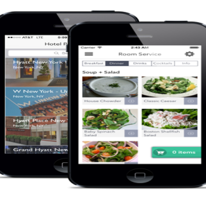 Mobile App provides easy access to Hotel Services